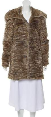 Cassin Knitted Fur Coat