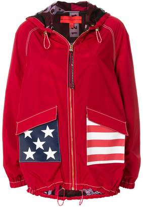 Tommy Hilfiger stars and stripes hooded jacket