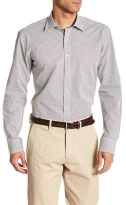 Bugatchi Print Shaped Fit Shirt
