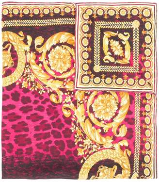 Versace printed neck scarf