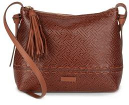 Cole Haan  BrynnTextured Leather Crossbody Bag