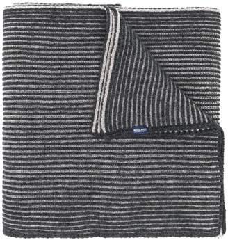 Woolrich stripe pattern scarf