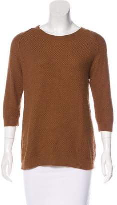 Elizabeth and James Textured Knit Sweater