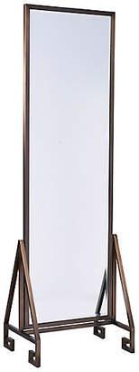 One Kings Lane Modern Floor Mirror - Bronze