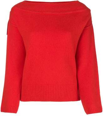 Forte Forte ribbed boat neck jumper