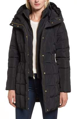 Cole Haan Signature Hooded Down & Feather Jacket