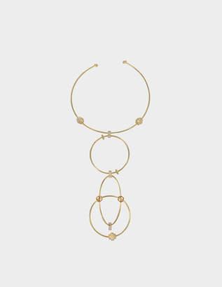Joanna Laura Constantine Wire Statement necklace