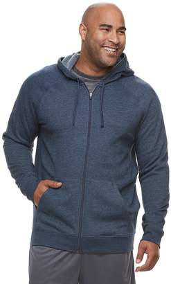 Tek Gear Big & Tall Regular-Fit Ultrasoft Fleece Full-Zip Hoodie