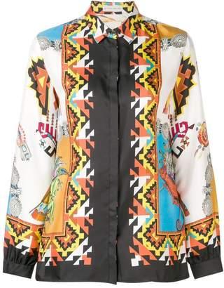 Etro printed loose blouse