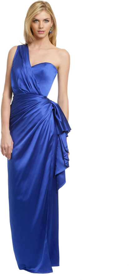 Reem Acra Royal Augusta Gown