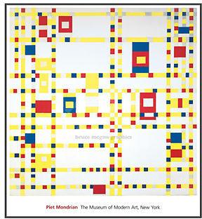 Mondrian, Broadway Boogie Woogie