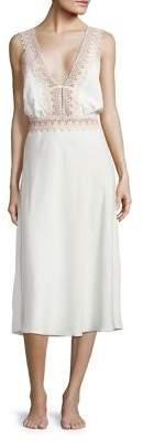Flora Nikrooz Lace Trim Nightgown