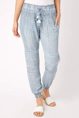 Surf.Gypsy Pleated Jogger