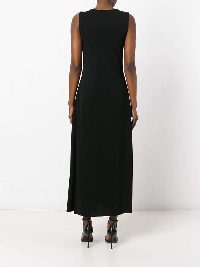 Jil Sander sleeveless flared skirt dress