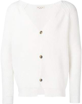 Ma Ry Ya Ma'ry'ya V-neck button cardigan