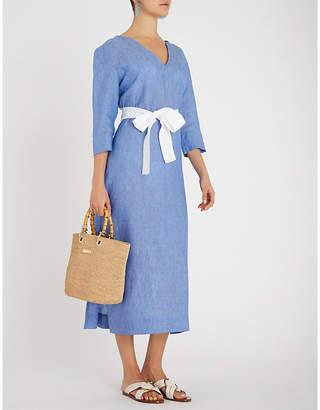 PDN LONDON Barbara linen dress