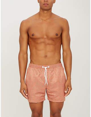 AFIELD Graphic-print swim shorts