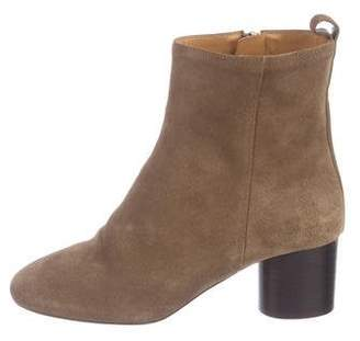 Etoile Isabel Marant Summer Velvet Suede Boots w/ Tags