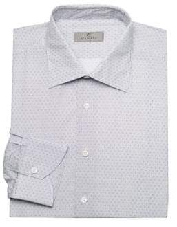 Canali Classic Fit Dot Dress Shirt