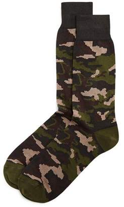 Bloomingdale's The Men's Store at Camo Socks - 100% Exclusive