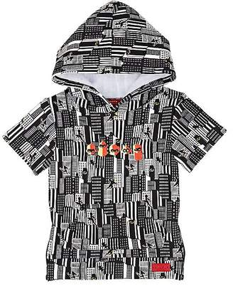 Haus of JR Infants' Cityscape Short-Sleeve Hoodie