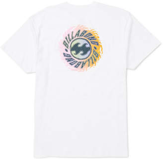 Billabong Men Ooze Logo Graphic T-Shirt