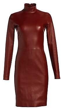 The Row Women's Beattia Leather Dress