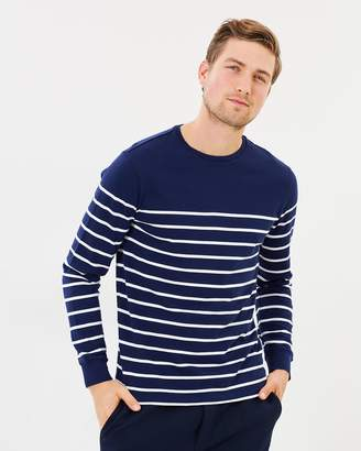 Polo Ralph Lauren Striped Cotton Jersey Pullover