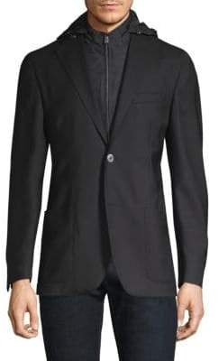 Corneliani Tailored Wool Sportcoat