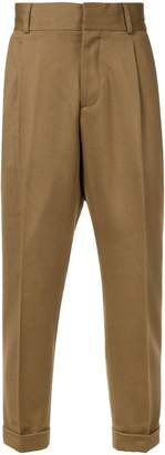 Kent & Curwen chinos with roll-up cuffs