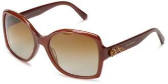 Dolce & Gabbana 0DG4168 2682T5 Polarized Square Sunglasses