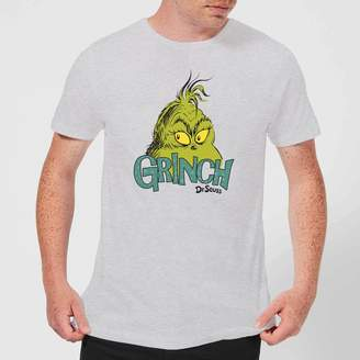 The Grinch Face Men's Christmas T-Shirt