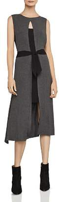 BCBGMAXAZRIA Tie-Waist Tunic Dress