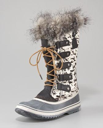 Sorel Fur Joan of Arctic Waterproof Boot