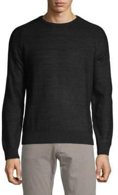 Bugatti Crewneck Waffle Sweater