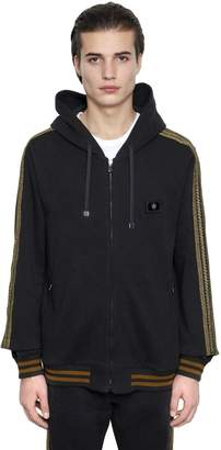 Dolce & Gabbana Military Hooded Cotton Sweatshirt