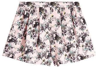 Moschino Printed Cotton Shorts