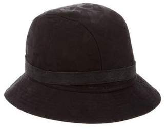 Versace Canvas Bucket Hat