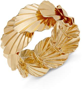 Thalia Sodi Gold-Tone Palm Leaf Stretch Bracelet
