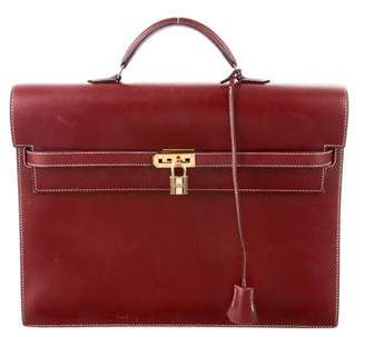 Hermes Kelly Depeches 38 Briefcase