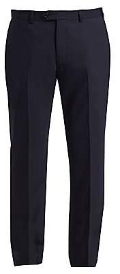 Emporio Armani Men's G Line Tonal Stripe Stretch Wool Pants