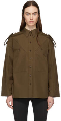 Givenchy Khaki 4G Military Shirt