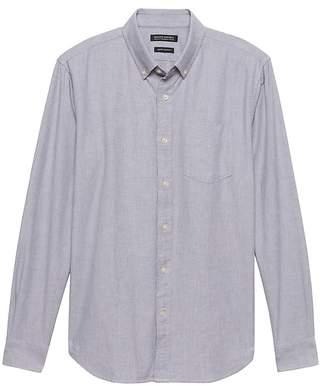 Banana Republic Grant Slim-Fit Cotton Oxford Shirt