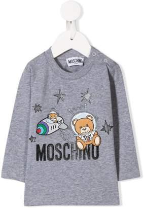Moschino Kids Astronaut Teddy top