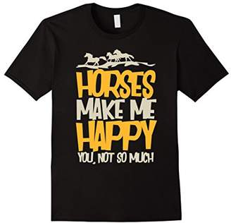 Horse Gifts for Girls and Women Equestrian Lover T Shirt