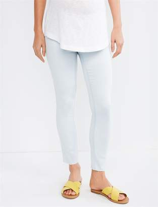 cd834358ad34c A Pea in the Pod Luxe Essentials Side Panel Addison Skinny Crop Maternity  Jeans