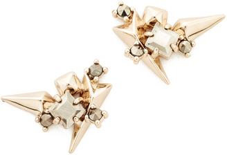 Alexis Bittar Studded Earrings $125 thestylecure.com