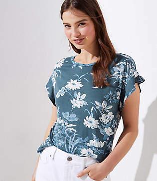 be5b5272f9 LOFT Women's Tees And Tshirts - ShopStyle
