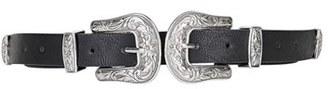 Topshop Double Buckle Faux Leather Western Belt $38 thestylecure.com