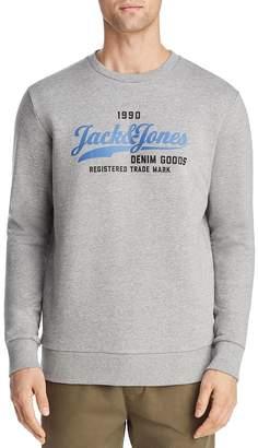 Jack and Jones JACK + JONES Logo Graphic Crewneck Sweatshirt